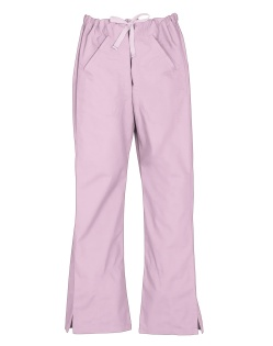 Baby Pink Ladies Classic Scrub Pants