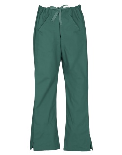 Hunter Green Ladies Nursing Scrub Pants