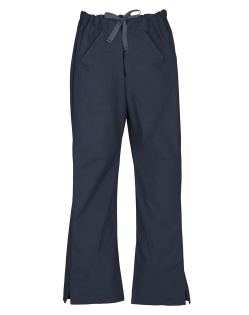 Navy Ladies Classic Scrub Pants